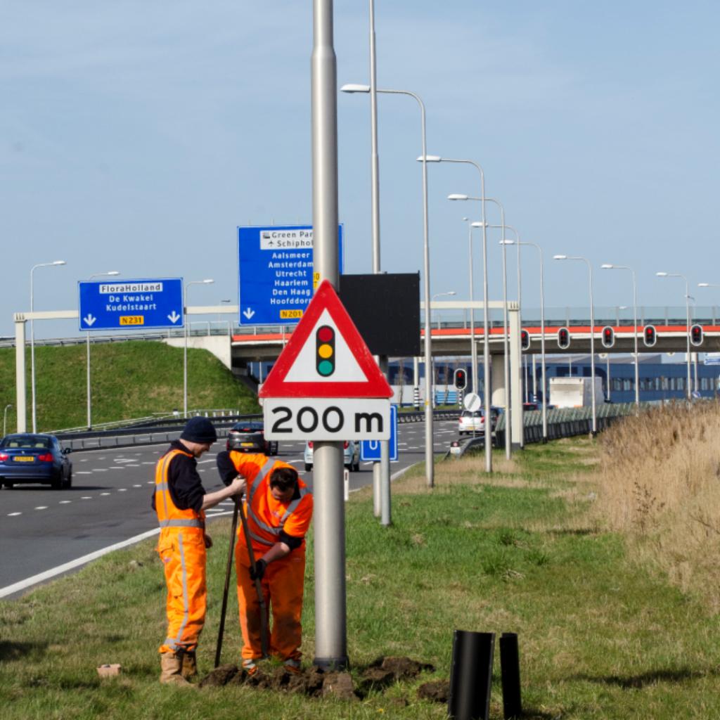 N201 richting Hoofddorp - van Vuuren